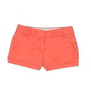 J. Crew Coral Chino Shorts